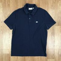 Vintage LACOSTE Mens Short Sleeve Polo Shirt   Regular Fit   4 Medium M Blue