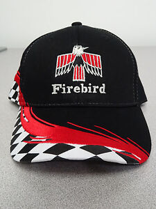 PONTIAC FIRST GENERATION FIREBIRD CHECKERED HATS GM LICENSED