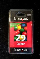 New LEXMARK 29 18C1429E Colour Tricolour Genuine original ink cartridge