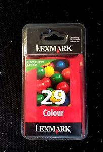 New LEXMARK 29 18C1429E Colour Tricolour Genuine original ink cartridge