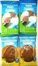 4 Pks- MULTI SURFACE CLEANING WIPES HOUSE ALL PURPOSE 24 WIPES each- 96 Wipes