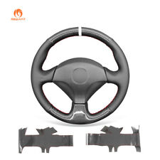 PU Carbon Fiber Leather Car Steering Wheel Cover for Honda S2000 Civic Si Acura