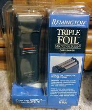 "Remington TF-100BPR Triple Foil Micro Screen Cord Shaver 1998 ""NOS"" ""NIP"" SEALED"