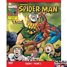 Spider-Man Original Marvel DVD Animated Season 2 Volume 3 Episodes 13-19  ⭐NEW⭐