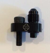 V34 Steam Vent FITTING -4 AN / LS1 LS6 LS2 LS7 LM7 LQ9 Cooling Coolant / BLACK