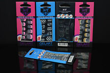 Nail Art Stickers Job Lot,Wholesale, Lot Of 20 Packs, In Various Designs&Colours