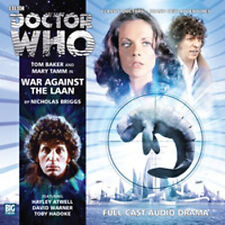 DOCTOR WHO Big Finish Audio CD Tom Baker 4th Doctor #2.3 WAR AGAINST THE LAAN
