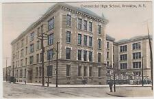 BROOKLYN'S COMMERCIAL HIGH SCHOOL, BED-STUY, ALBANY & DEAN ST. BY HAGEMEISTER NY