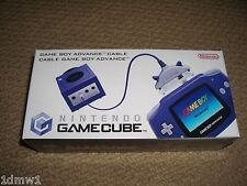 NINTENDO GAMEBOY ADVANCE pour GAMECUBE OFFICIEL Lien Authentique Câble-NEUF!!!