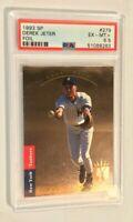 1993 Derek Jeter RC #279 SP Foil Premier Prospects Excellent Mint Condition