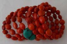 Brazilian Wrap bracelet with turquoise