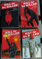 Kill or Be Killed TPB Volumes #1-4 Complete Series Image Brubaker