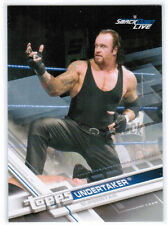 2017 TOPPS WWE UNDERTAKER #58 SILVER PARALLEL 24/25 SMACKDOWN LIVE