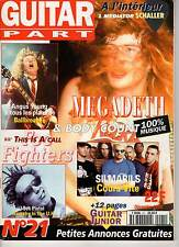 "GUITAR PART #21 ""Megadeth,Sex Pistols,Foo Fighters,AC/DC,Body Count"" (REVUE)"