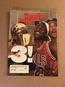 Sports Illustrated SI June 28, 1993 Michael Jordan, Chicago Bulls, 3x NBA Champs