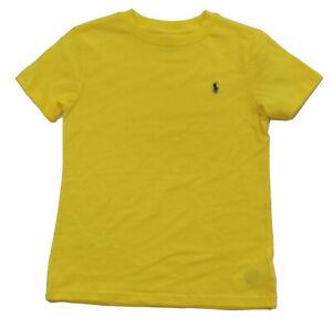 Ralph Lauren Polo Boys T-Shirts Crew Neck & V-Neck 100% Cotton  - Size 5 6 7 NWT