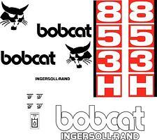 853H D Replacement decals decal kit / sticker set skid loader steer fits bobcat