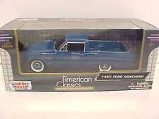 1960 Ford Ranchero Wagon Pickup Truck Die-cast 1:24 Motormax 8 inch Teal Blue
