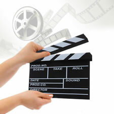 Film Director's Clapper Board HOLLYWOOD Movie Scene Clapboard Photography Props