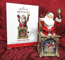 Hallmark 2014 Series Ornament #2~Santa Certified