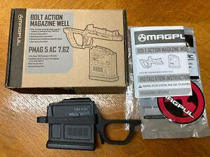 Magpul Hunter 700 Bolt Action Magazine Well & PMAG 5 7.62 AC 5 round AICS MAG497