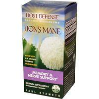 Lion's Mane, Memory & Nerve Support, 60 Vegetarian Capsules