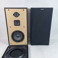 Sony SS-A507E 3 way Speakers. Large floorstanding. 6ohm 100w