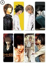 New Japanese Anime Death Note PVC Bookmarks x 8