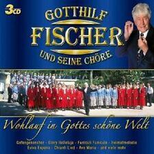 """GOTTHILF FISCHER UND SEINE CHÖRE """"WOHLAUF IN GOTTES SCHÖNE WELT"""" 3 CD"""