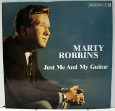 Rare Country LP - Marty Robbins - Just Me And My Guitar - Germany Import - OOP
