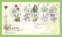 G.B. 2009 Plants set on Royal Mail First Day Cover Tallents House h/s