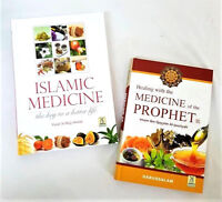 Healing with the Medicine of the Prophet / Islamic Medicine - 2 Books (Hardback)