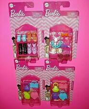 Barbie Mattel Accessories New Shoes Headbands Handbags Purses 18 Total Pieces