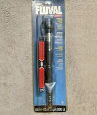 Fluval Submersible Electronic Aquarium Heater 200W For 200L 65 Gal Tank Tested