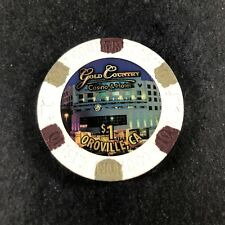 New ListingGold Country Casino $1 Casino Chip White House Mold California Cg128535 Oroville
