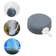 Aquarium Air Bubble Stone Aerator Disk Fish Tank Pond Hydroponics Diffuser 4cm