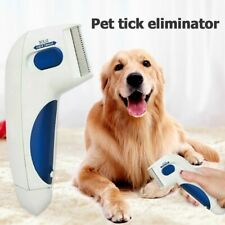 Pet Flea Comb Electric Flea Comb for Dog Cats Lice Eliminator and Cleaning Brush
