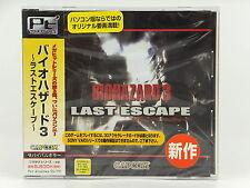 Resident Evil biohazard 3 Last Escap For Windows 95/98 NEW
