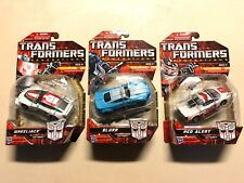 TRANSFORMERS GENERATIONS WHEELJACK BLURR RED ALERT LOT OF 3 CLASSIC DELUXE