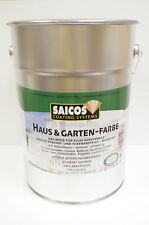 Saicos Haus & Garten-Farbe 2600 Schilfgrün 10,0 Liter für den Außenbereich