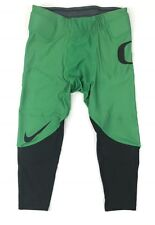 New Nike Men's L Oregon Ducks Digital Vapor Speed Tight Football Pants Green $85