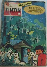 JOURNAL TINTIN N°546 Rives sur douille/VAILLANT/JARI/JACOBS 1959 BON ETAT