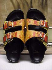Givenchy Paris Women's Mosaic Pixel Double-Buckle Sandals Size 40