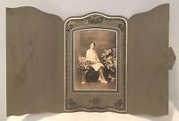Antique Photo In Cabinet Card From Early 1900's Rare Excellent Condition 5of14