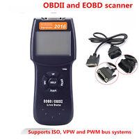 Car Fault Code Reader D900 Engine Scanner Diagnostic OBD2 OBDII EOBD Universal