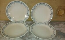 """Corelle 6 3/4"""" Plates / Country Violet / Set of 4"""