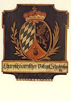 AK: Posthausschild Bayern um 1805