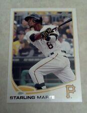 STARLING MARTE 2013 TOPPS BASEBALL CARD # 288 A0514