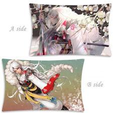 Hot Anime Inuyasha Sesshoumaru Dakimakura Hugging Body Pillow Case Cover 35x55CM