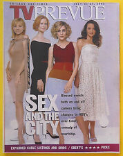 Sarah Jessica Parker SEX AND THE CITY Chicago Sun-Times TV guide Jul 21 2002
